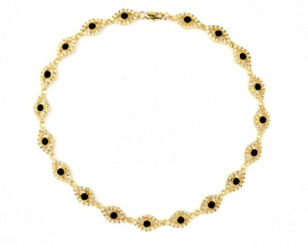 Iria Bib Necklace - Anthropologie Necklace/ Bib Statement Necklace/Jeweled Bib/JCrew Necklace/Crystal Necklace/
