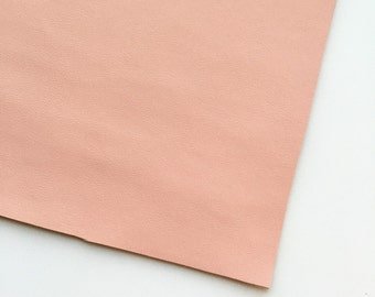 Blush Vegan Faux Leather, Vinyl, Leatherette, Blush Pink, Vegan Leather, Hair Bow, Fake Leather, Faux Leather Sheet, Pink Faux Leather
