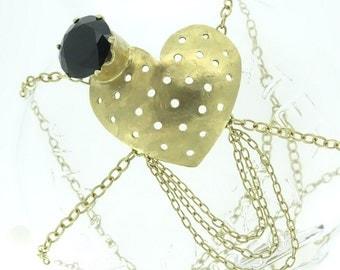 eyepatch necklace