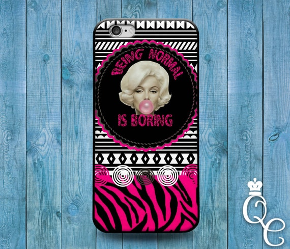 iPhone 4 4s 5 5s 5c SE 6 6s 7 plus iPod Touch 4th 5th 6th Gen Cool Normal Boring Quote Pink Weird Girly Girl Funny Phone Cover Cute Case