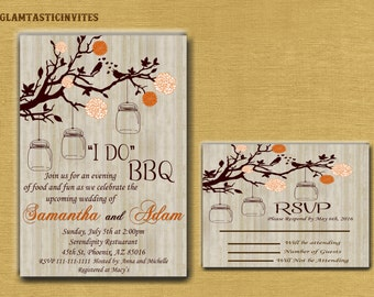 I Do BBQ Couples Shower Invitation, BBQ Couples shower, Bbq Invitation, I Do BBq Invitation, I Do Bbq, Bbq invitations, I Do Bbq Couples,