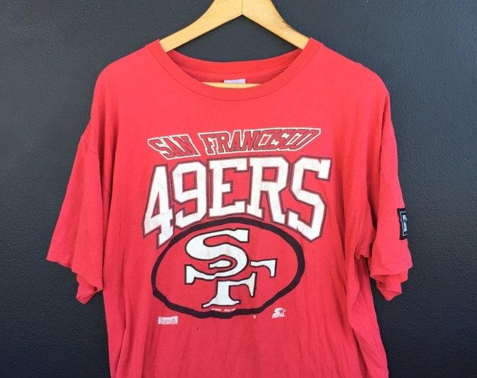 San Francisco 49ers 1990 Vintage Tshirt