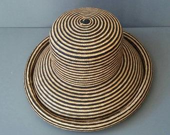 Vintage Laura Ashley Straw Hat