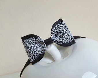 Black and white bow tie/lady bow tie/man bow tie/women bow tie/violet yellow bow tie/hipster bow tie/gift ideas/kids bow tie