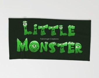 Little Monster Beach Towel, Bath Towel, and Hand Towel! You Choose!