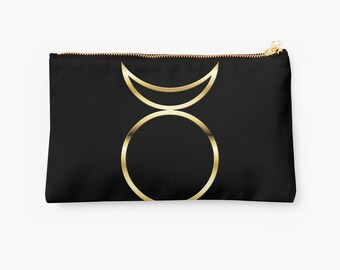 Carry-All Pouch, Horned God Symbol 2 Sizes Available!