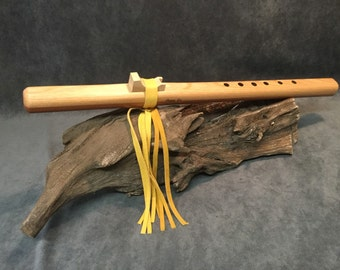 Handcrafted Native American Style Flute - Made From Premium Grade Redwood (Serial No. 0023)
