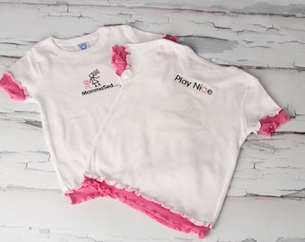 MommaSed…® Play Nice – Girl's Tee