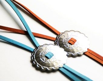 Leather Bolo Necklace