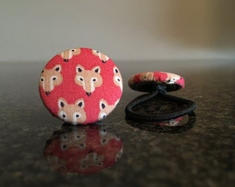 Fox hairbands (pair)
