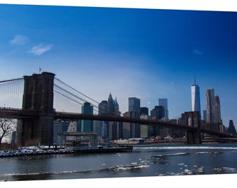 Brooklyn Bridge Canvas Wall Art