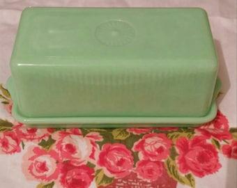Mckee jadeite butter dish 1 1/4