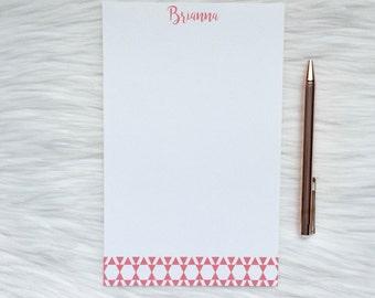 Personalized Notepad / Aztec Notepad / Custom Notepad / Name Notepad