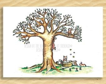 Bubba under the Tree