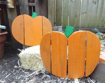 Hey Pumpkin Handmade Wooden Indoor/Outdoor Fall Decor