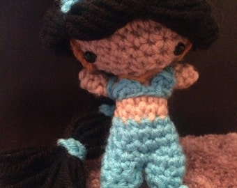 Princess Jasmine- crocheted