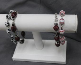 Sports Themed Bracelets
