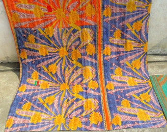 Vintage Kantha quilts / throws