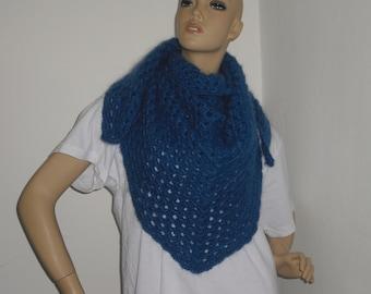 Shawl - crochet cloth - shawl - crochet shawls - scarf - Hüftschmeichler