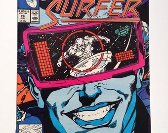 """Silver Surfer # 26, August 1989, Second Series, """"Z-Day"""""""