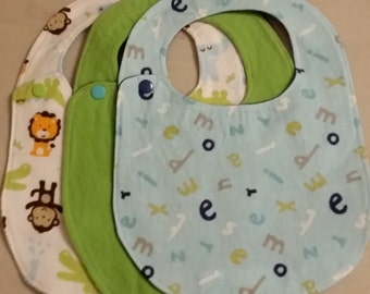 ON SALE: Toddler Bibs (set of 3)