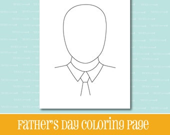 fathers day printable gift for dad dad coloring page printable instant download printable gift fathers day gift fathers day