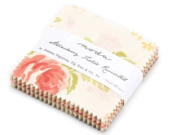 Strawberry Fields Revisited Mini Charm Pack from Moda