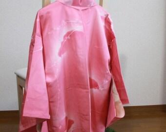 Plum pattern coat haori kimono