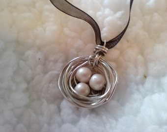 Nest Eggs Necklace