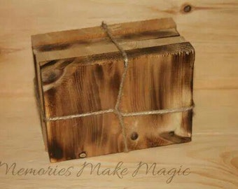Old Country Rustic Coasters- Wood Burned
