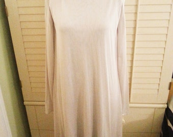Vintage dress, Jill Sander vintage off white dress, vintage off white dress, 1960's dress,