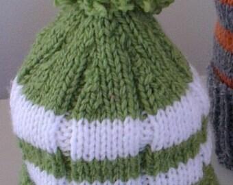 Beanie - Hand knitted