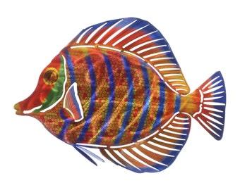 Next Innovations Angelfish Stripe Refraxions 3D Wall Art
