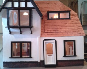 Vintage Renovated Dolls House