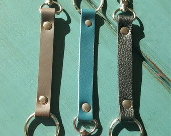 Free Shipping on any Leather Lanyard