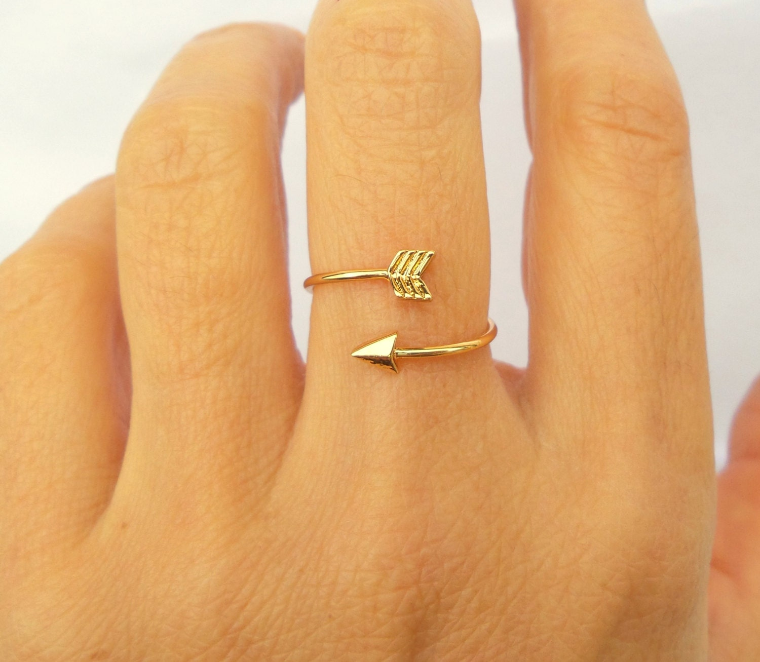 Arrow Ring / Arrow Jewelry / Simple Ring / Statement Ring