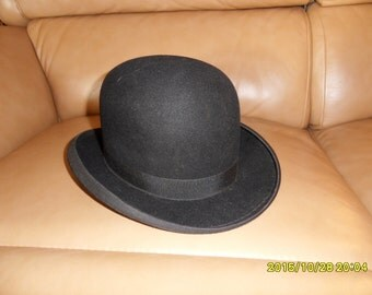 """Small vintage bowler hat """"The Stylish"""" by Crestolite. Steampunk, fancy dress, cosplay"""