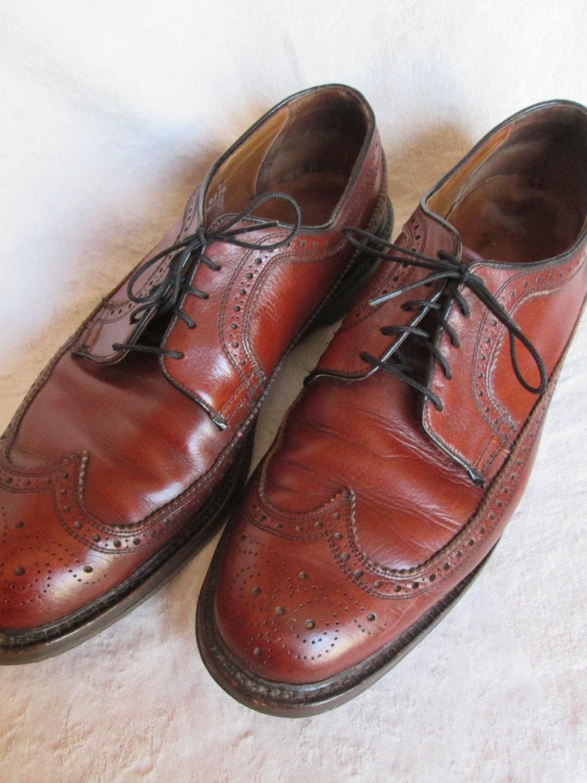 Men S Wingtip Threadneedle Dress Shoes