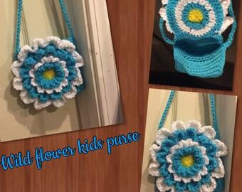 Wild flower childrens purse