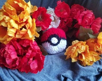 Pkmn Inspired Soft Pokeball Plushie
