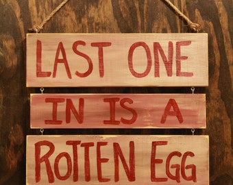 Rustic Chicken Coop Sign