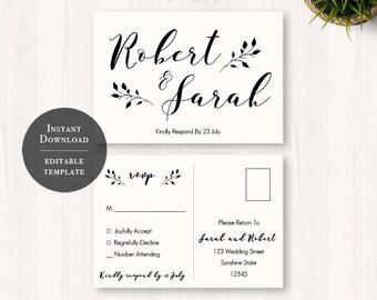 diy, wedding rsvp, rsvp template, wedding, printable wedding, postcard, rsvp postcard, rsvp, printable, wedding template, country chic, 33