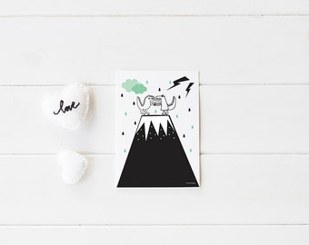 Kids wall art / kids prints /childrens Decor / Nursery Art Print / Children Interior Design/ childrens decor/ Kids prints/ baby room art