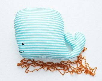 Stuffed whale toy RYBKAVELE