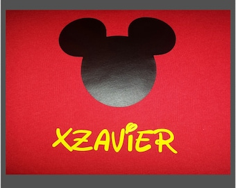 Mickey Mouse Personalized Shirt