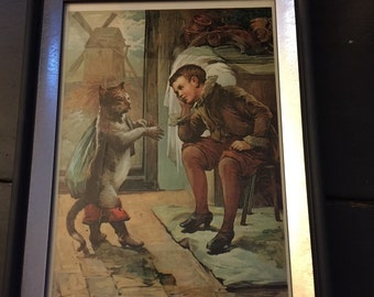 Collectible art (Puss in boots)