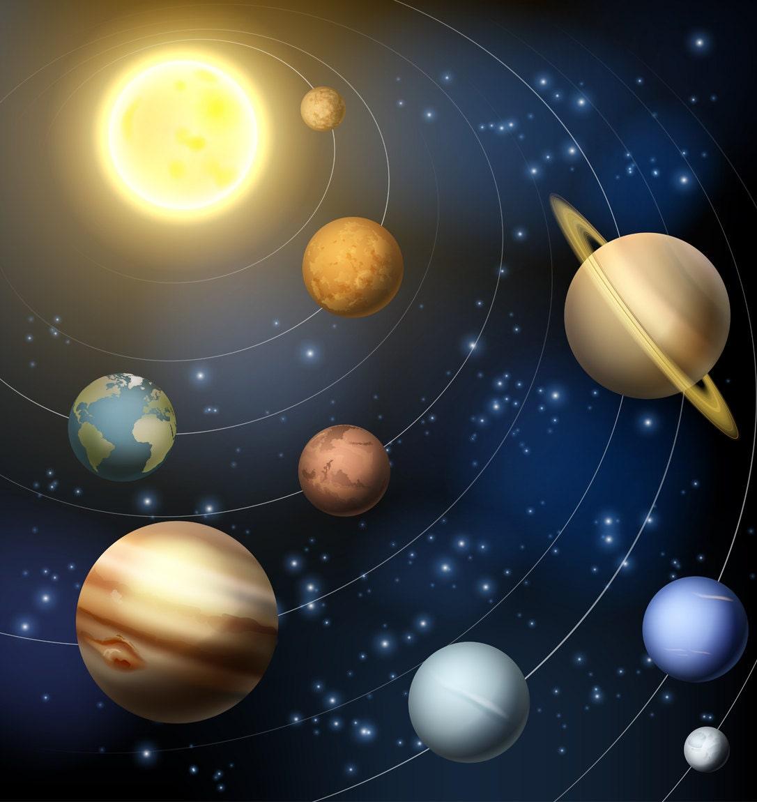 its nine planets and sun - photo #18