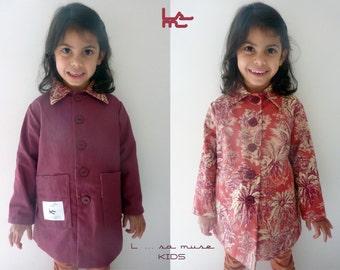 Child reversible jacket