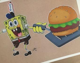 SpongeBob Squarepants PRINT.