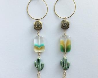 boho + desert earrings